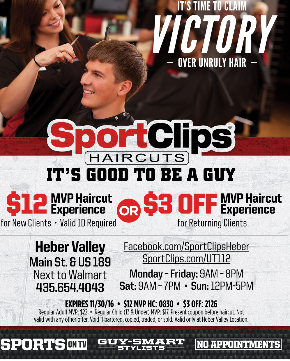 Sportclips Haircuts Heber Valley Guide