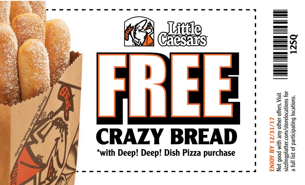 crazy bread coupon