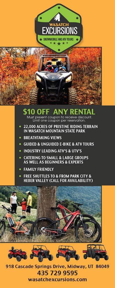 Wasatch Excursions - Heber Valley Utah